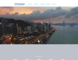 simagetechnologies.com screenshot