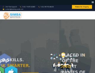 simba-infotech.com screenshot