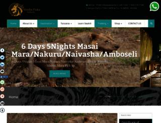 simbapakasafaris.com screenshot