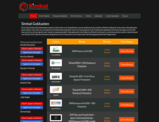 simbatgokkasten.com screenshot