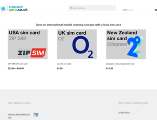 simcardguru.co.uk screenshot