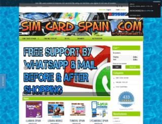 simcardspain.es screenshot