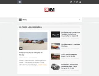 simcarros.com screenshot