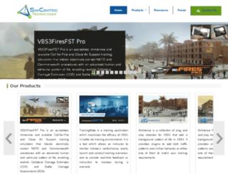 simcentric.com.au screenshot