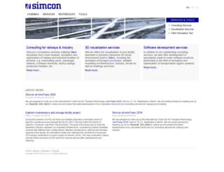 simcon.sk screenshot