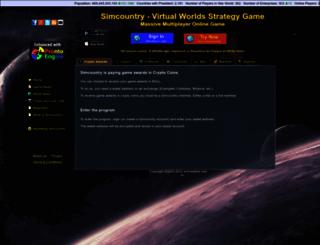 simcountry.com screenshot