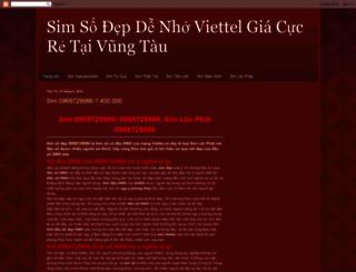 simdenhoviettelvungtau.blogspot.com screenshot