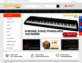 simdimuzik.com screenshot