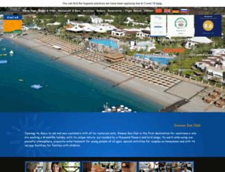 simenasunclub.com screenshot
