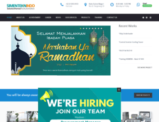 simenteknindo.com screenshot