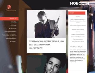 simfonijski.com screenshot