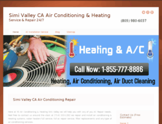 simi-valley-air-conditioning-heating.com screenshot