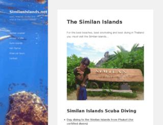 similanislands.net screenshot
