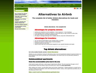 similar-web-sites-to-airbnb-roomorama-wimdu.fastweb.no screenshot