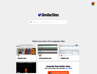 similarsites.com screenshot