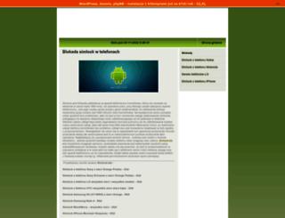 simlock.dzs.pl screenshot