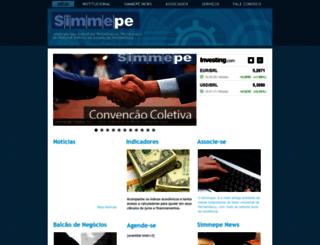 simmepe.org.br screenshot
