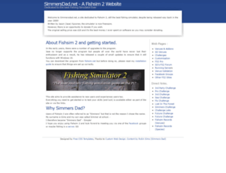 simmersdad.net screenshot