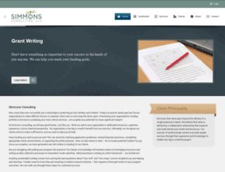 simmonsconsulting.org screenshot