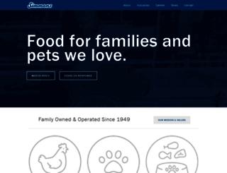 simmonsfoods.com screenshot