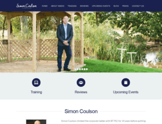 simon-coulson.com screenshot