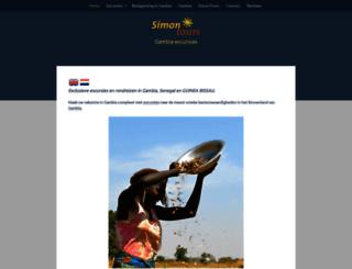 simon-tours.com screenshot