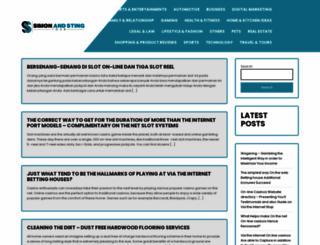 simonandstingtour.com screenshot