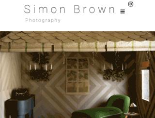 simonbrownphotography.com screenshot