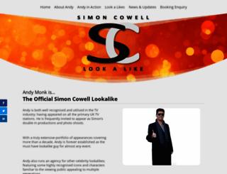simoncowell-lookalike.co.uk screenshot