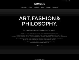 simone.co.jp screenshot