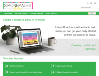 simonemadeit.com screenshot