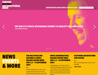 simonemicheli.com screenshot