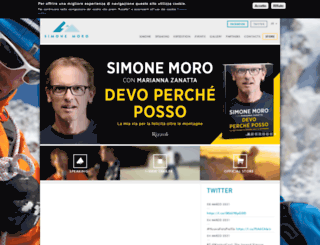 simonemoro.com screenshot