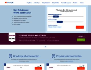 simonly.nl screenshot