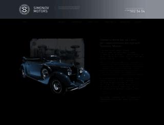 simonovmotors.ru screenshot