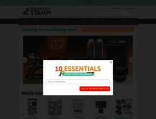 simonsaysstamp.com screenshot