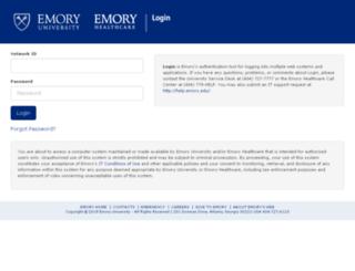simonweb.emory.edu screenshot