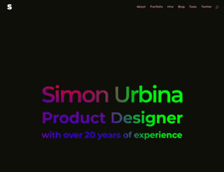 simonwebdesign.com screenshot
