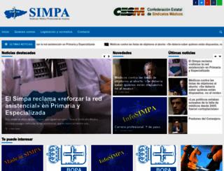 simpa.es screenshot