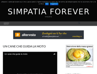 simpatiaforever.altervista.org screenshot