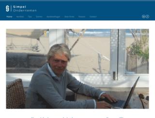 simpelondernemen.nl screenshot