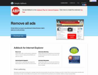 simple-adblock.com screenshot