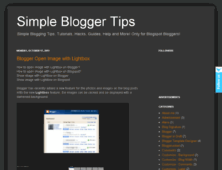 simple-blogger-tips.blogspot.in screenshot