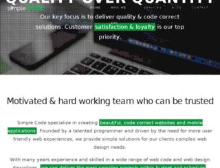 simple-code.net screenshot