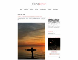 simple-pretty.com screenshot