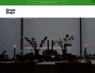 simple-shape.com screenshot