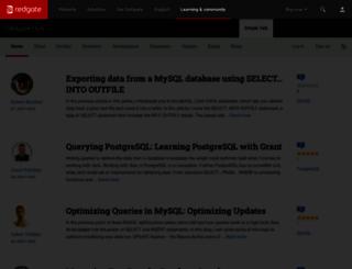 simple-talk.com screenshot