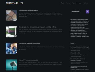 simple7.com.ve screenshot