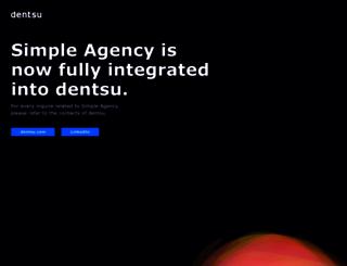 simpleagency.it screenshot