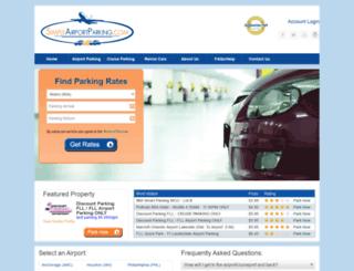 simpleairportparking.com screenshot